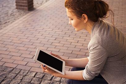 Online-Beratung ist überall möglich